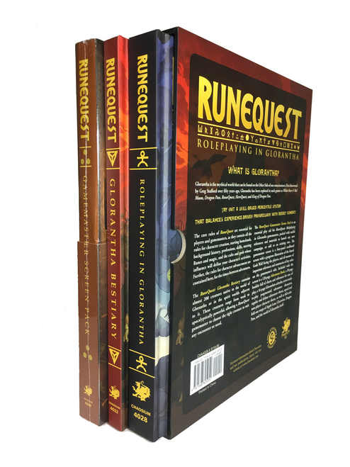 RuneQuest Roleplaying in Glorantha - Slipcase Set