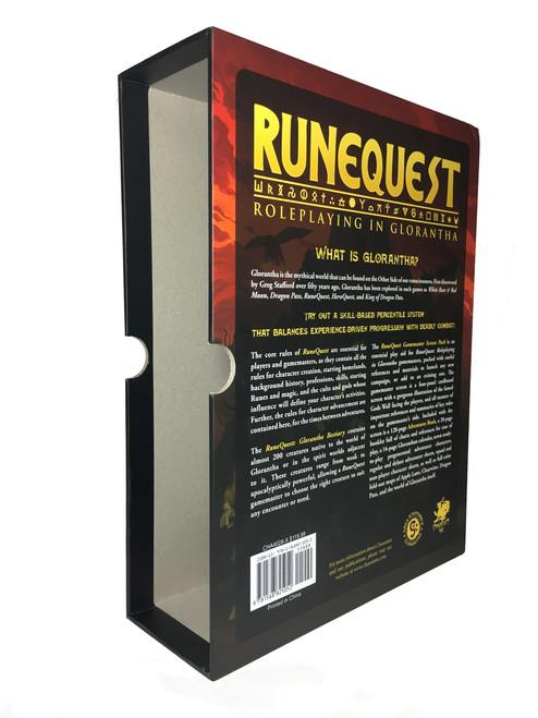Empty RuneQuest Slipcase - Standard Width