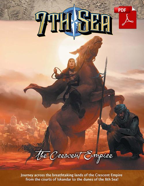 7th Sea - Crescent Empire - Front Cover