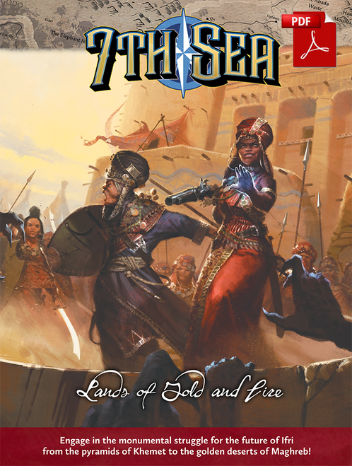 Lands of Gold and Fire - Front Cover