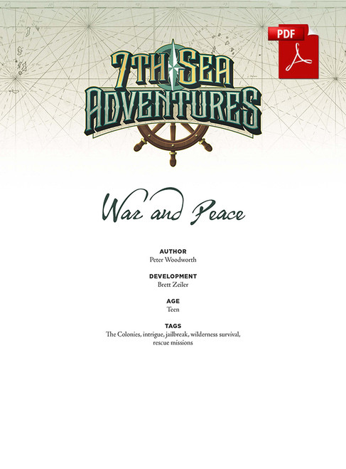 War and Peace - Front Cover