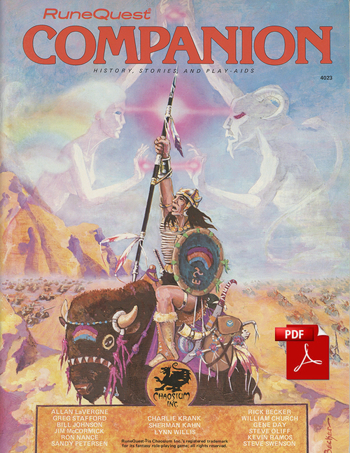 RuneQuest Companion - Front Cover