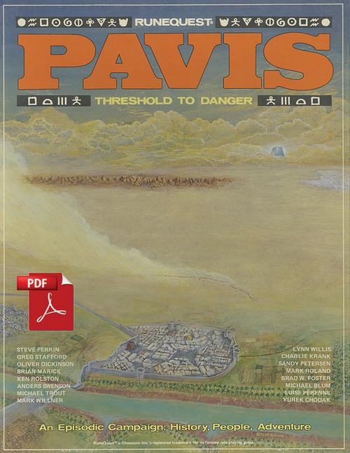 Pavis - Front Cover