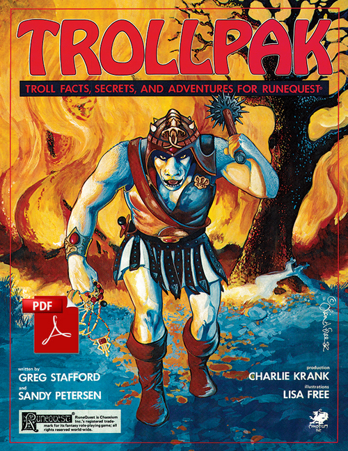 Trollpak - Front Cover