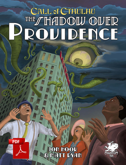 The Shadow Over Providence - Front Cover