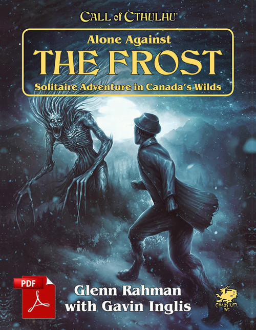 Alone Against the Frost - Front Cover