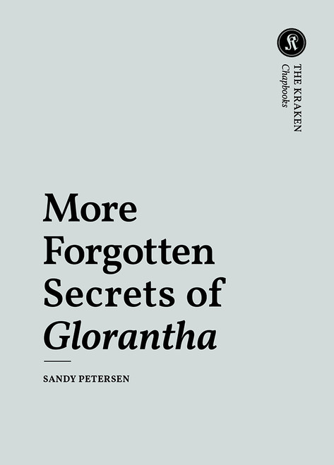 More Forgotten Secrets of Glorantha - Front Cover