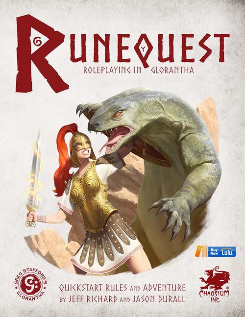 RuneQuest Quickstart - Front Cover
