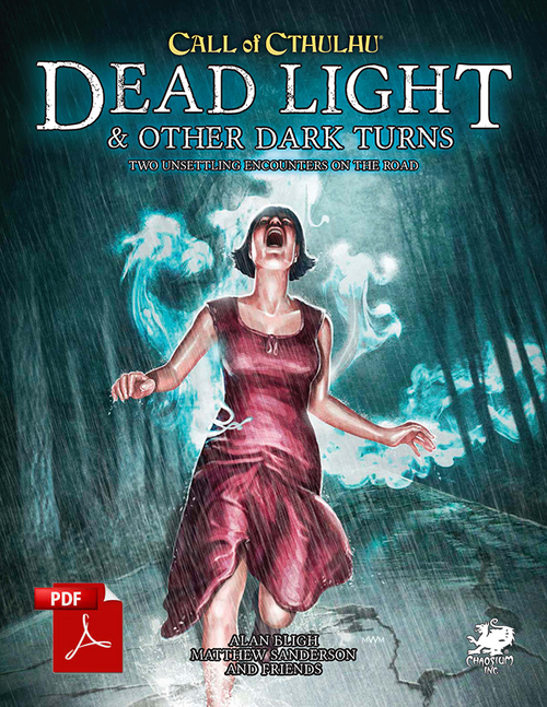 Dead Light and Other Dark Turns - Front Cover