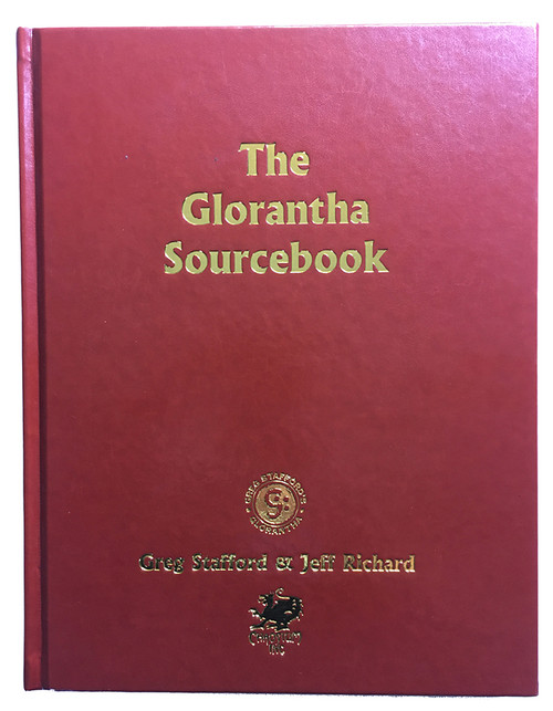 CHA4033 - Glorantha Sourcebook - Leatherette Cover