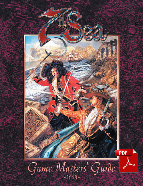 7th Sea: Game Master's Guide - Front Cover