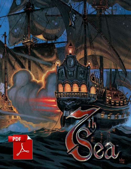 7th Sea: Game Master's Screen - Piece