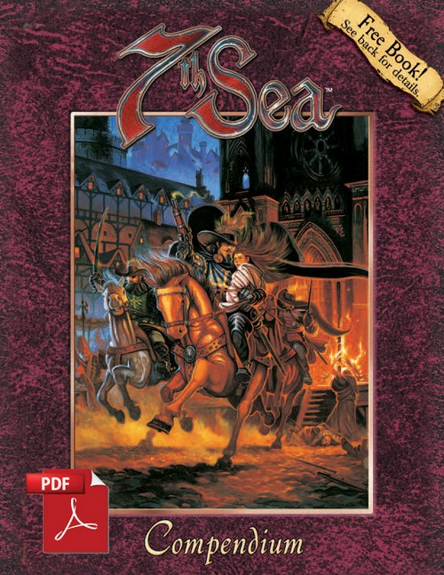 7th Sea: Compendium - Front Cover