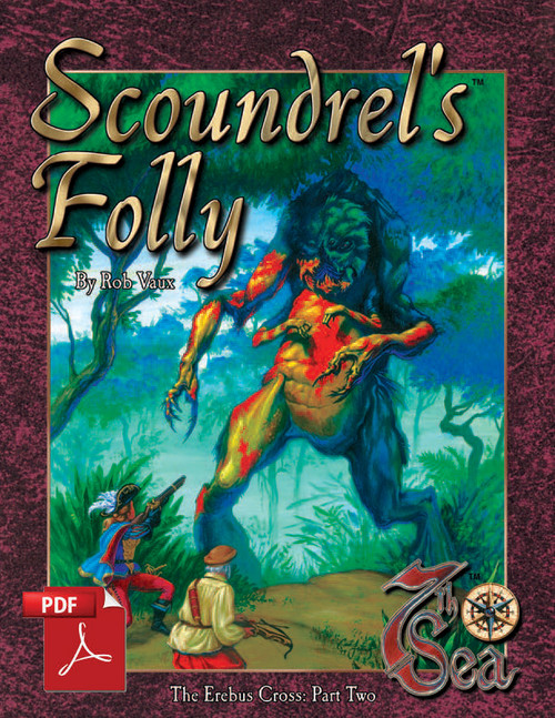 7th Sea Adventures: Scoundrel's Folly - Front Cover