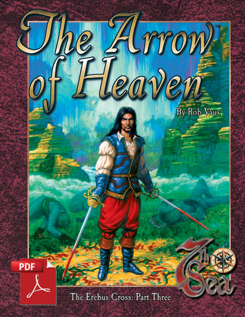 7th Sea Adventures: The Arrow of Heaven - Front Cover