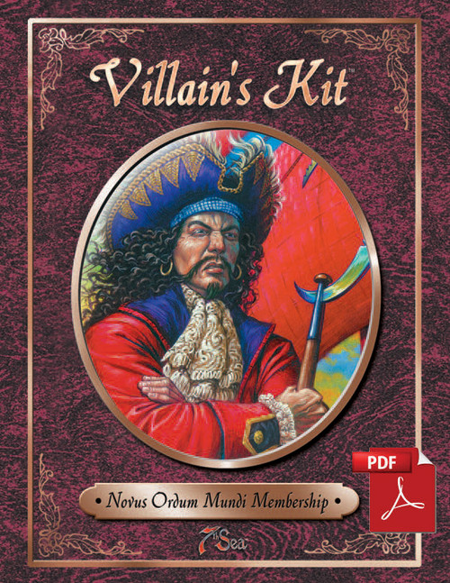 7th Sea: Villain's Kit - Front Cover