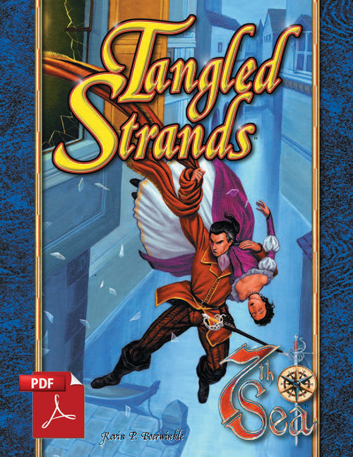 Tangled Strands - Front Cover
