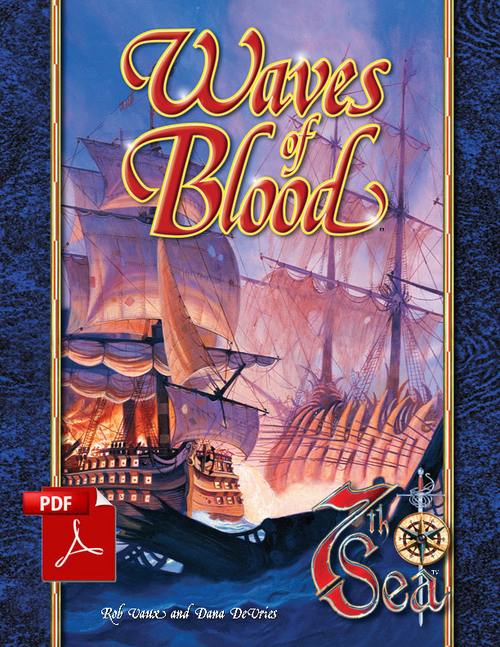 Waves of Blood - Front Cover