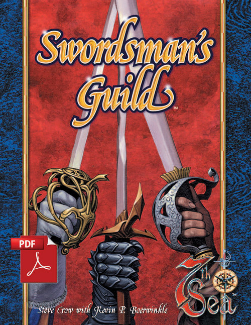 Swordman's Guide - Front Cover