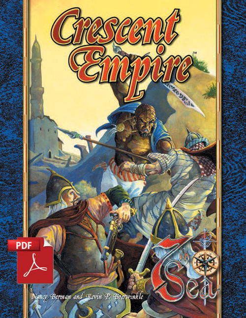 Crescent Empire - Front Cover