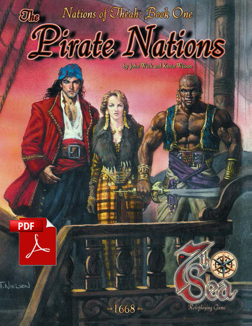 Nations of Theah: Book One - The Pirate Nations - Front Cover