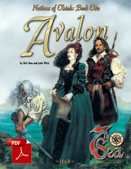 Nations of Theah: Book Two - Avalon - Front Cover