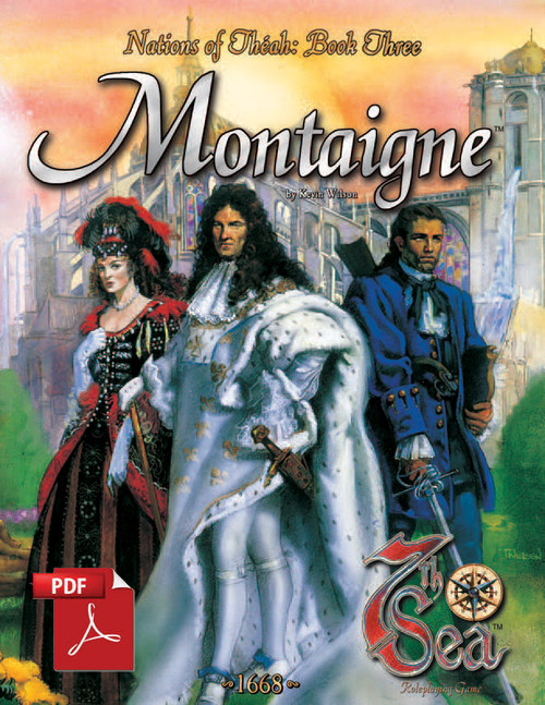 Nations of Theah: Book Three - Montaigne - Front Cover