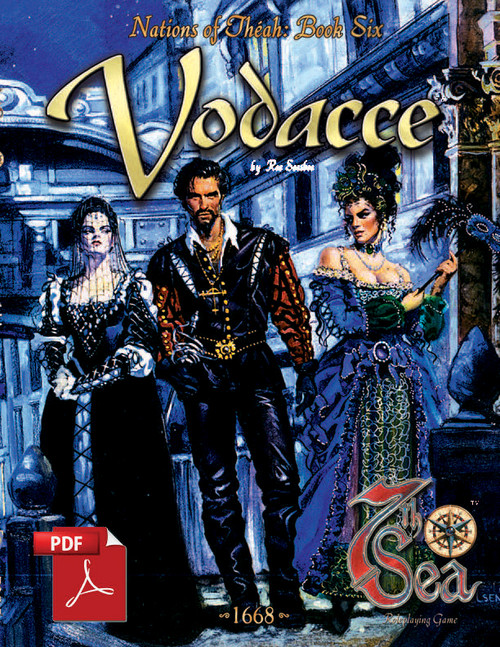 Nations of Theah: Book Six - Vodacce - Front Cover