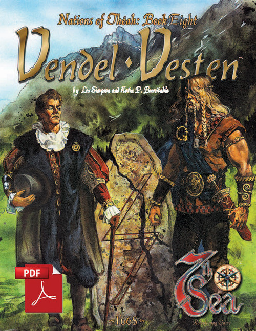 Nations of Theah: Book Eight - Vendel and Vesten - Front Cover
