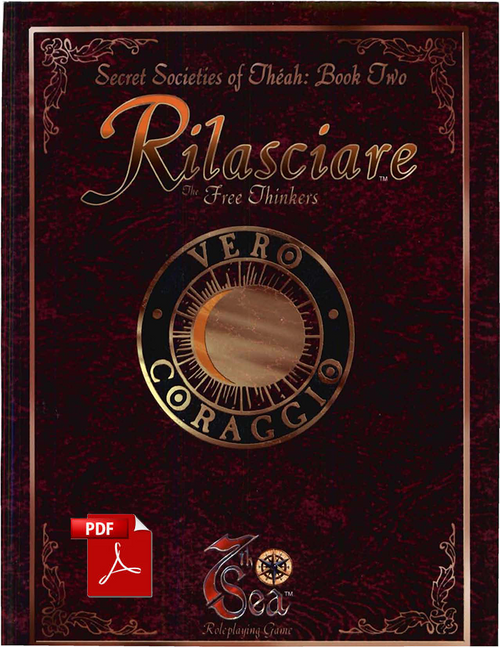 Secret Societies of Theah: Book One - Rilasciare - Front Cover