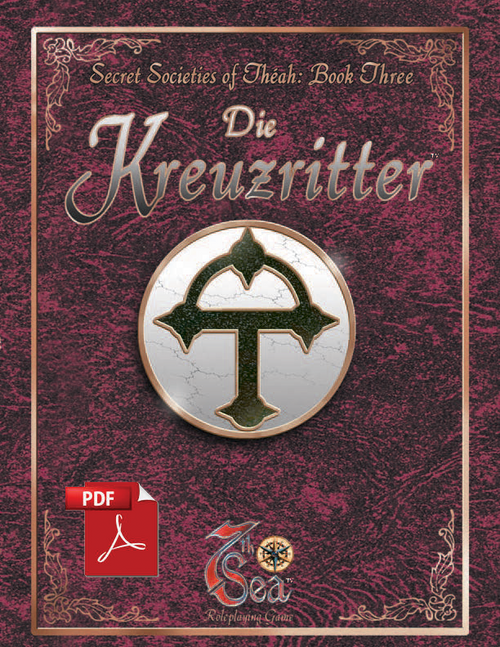 Secret Societies of Theah: Book Three - Die Kreuzritter - Front Cover