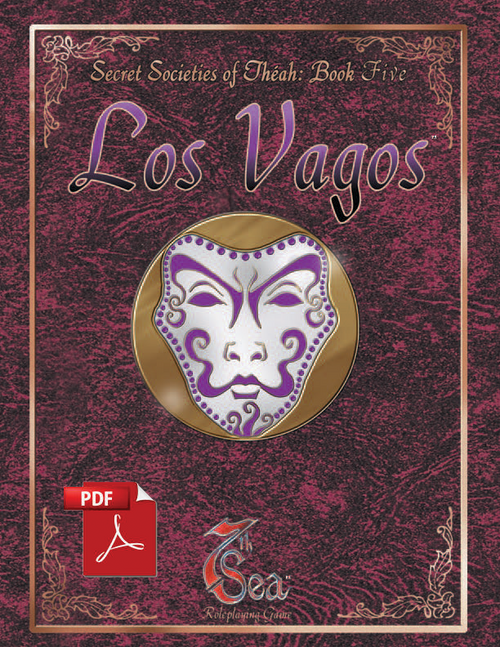 Secret Societies of Theah: Book Five - Los Vagos - Front Cover