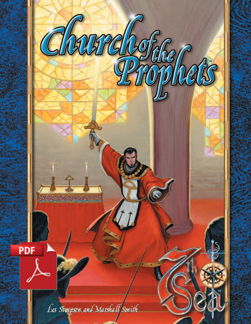 Church of the Prophets - Front Cover