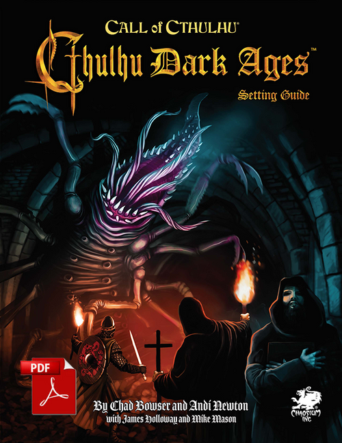 Cthulhu Dark Ages - 3rd Edition - Front Cover