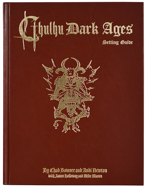 Cthulhu Dark Ages - 2nd Edition - Leatherette - Front Cover