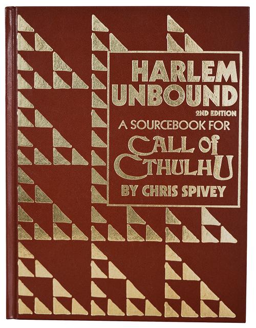Harlem Unbound Leatherette - Front Cover