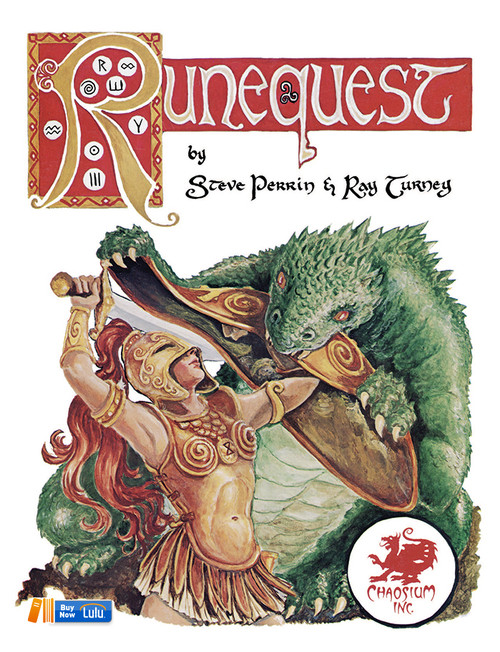 RuneQuest Classic - Front Cover