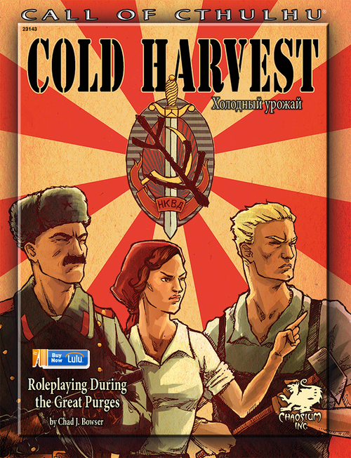 Cold Harvest - Front Cover
