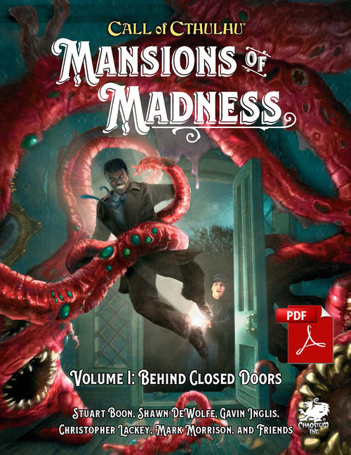 Mansions of Madness: Vol 1 - Behind Closed Door  - Front Cover