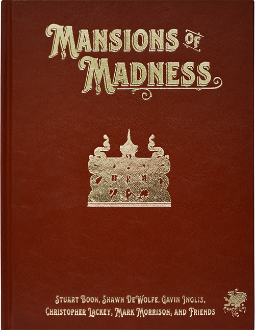 Mansions of Madness: Vol 1 - Behind Closed Door  - Leatherette - Front Cover