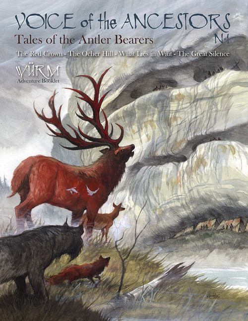 Tales of the Antler Bearers - Front Cover