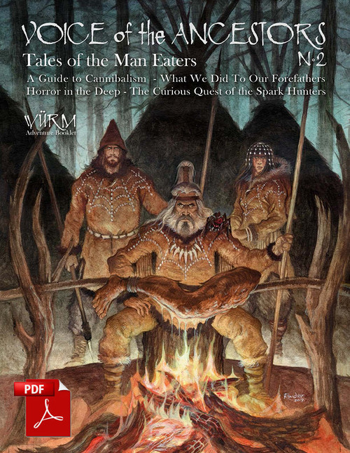 Tales of the Man Eaters - Front Cover