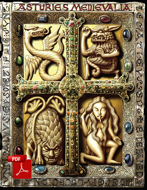 Asturies Medievalia - Front Cover