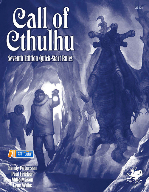 Call of Cthulhu Quickstart - Front Cover
