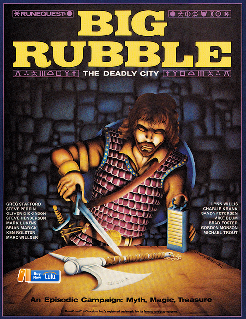 Big Rubble - Front Cover