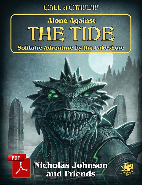 Alone Against the Tide - Front Cover