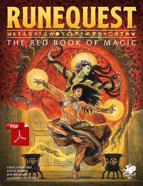 The Red Book of Magic - Front Cover