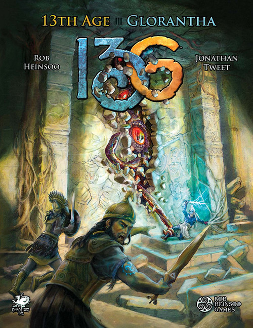 13th Age Glorantha - Front Cover