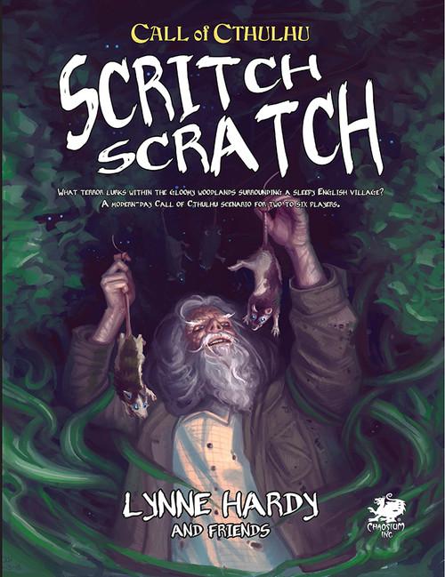 Scritch Scratch - Front Cover