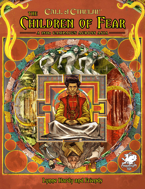 The Children of Fear - Front Cover